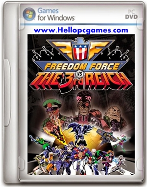 Freedom Force VS The 3rd Reich Game