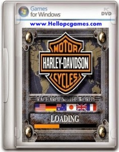 Harley Davidson Race Around The World Game