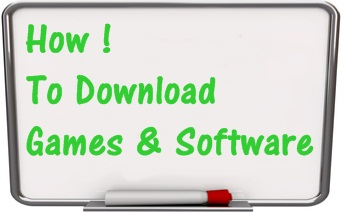 How To Download Games And Software