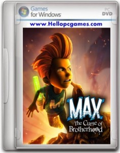 Max The Curse of Brotherhood Game