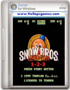 Snow Bros 1 2 3 Game