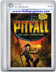 Pitfall The Lost Expedition Game