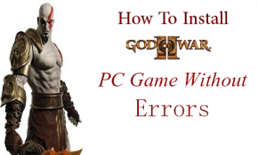 How to Install God of war 2 game
