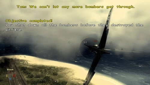 Blazing Angels Squadrons Of WWII Game Picture 3