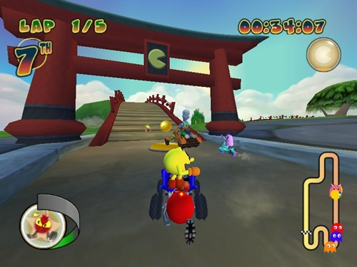 Pac Man World Rally Game-Picture-4