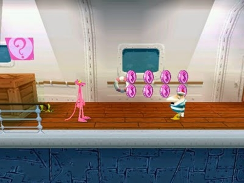 Pink Panther Pinkadelic Pursuit Game-Picture-2