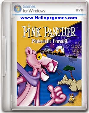 Pink Panther Pinkadelic Pursuit Game