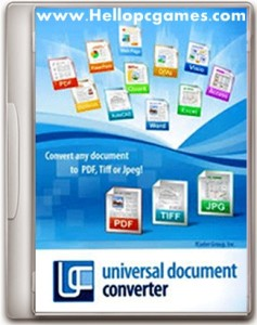 Universal Document Converter 5.5