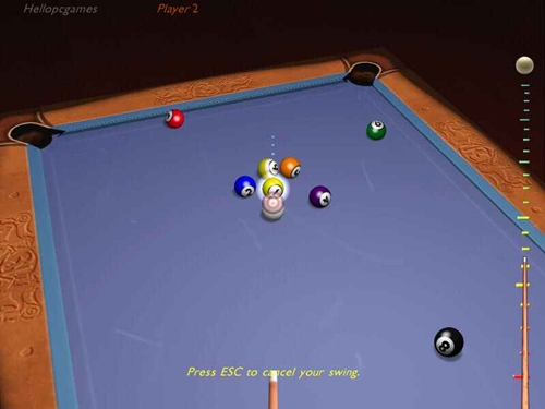 3d Ultra Cool Pool Snooker Game Picture 2