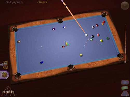 3d Ultra Cool Pool Snooker Game Picture 3