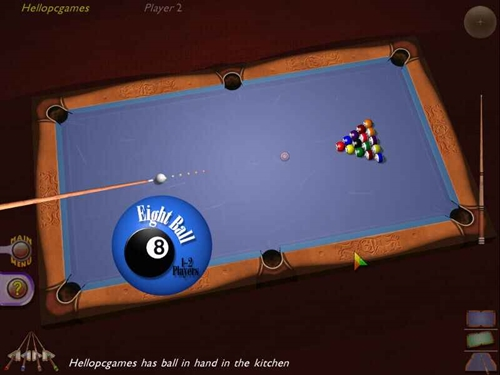 3d Ultra Cool Pool Snooker Game Picture 4
