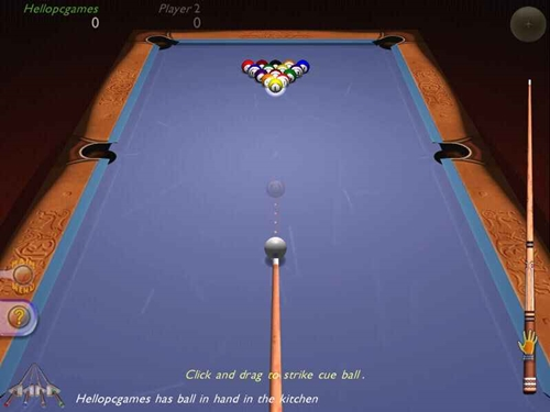 3d Ultra Cool Pool Snooker Game Picture