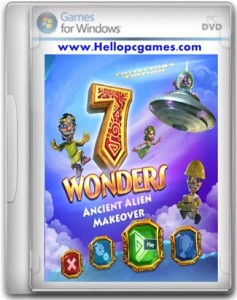 7 Wonders Ancient Alien Makeover Game