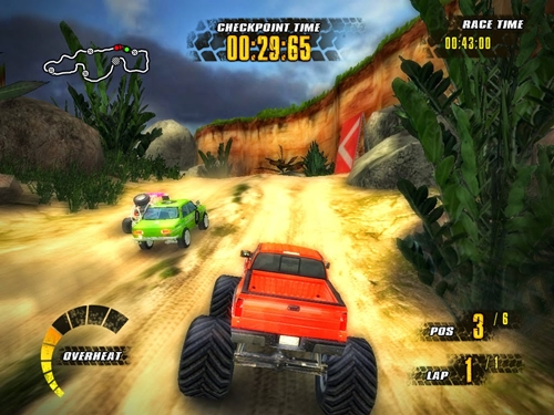 Jungle Racers Game Picture 4