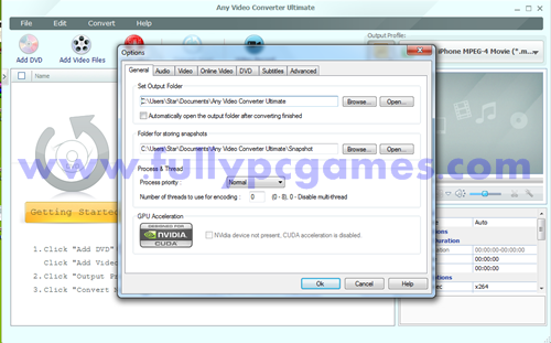 Any Video Converter Ultimate 4.3.7 Picture 2