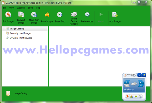 Daemon Tools Pro Advanced 4 Picture
