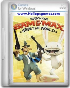 Sam & Max Save The World Game