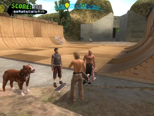 Tony Hawks American Wasteland Game picture 2
