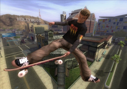 Tony Hawks American Wasteland Game picture 3