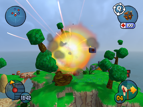Worms 3D Game Picture  3
