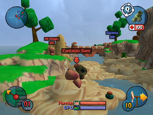 Worms 3D Game Picture