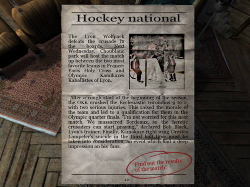 Nikopol Secrets Of The Immortals Game Picture