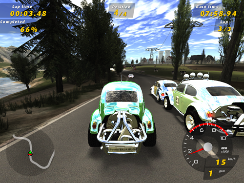 Volkswagen GTI Racing Game Picture 6