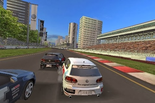 Volkswagen GTI Racing Game Picture