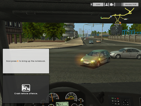 Euro Truck Simulator Game Picture 2