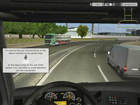 Euro Truck Simulator Game Picture 3