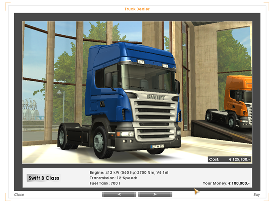 Euro Truck Simulator Game Picture