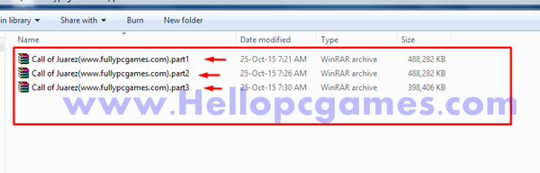 How to Extract Rar file in one folder-3