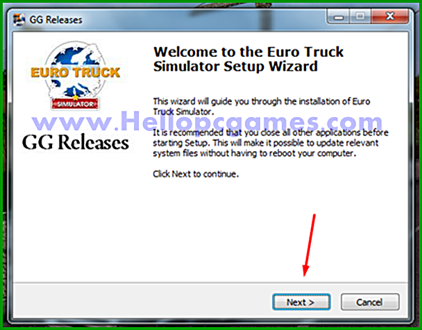 How to Install Euro Truck Simulator Game With Installation Password Picture 2