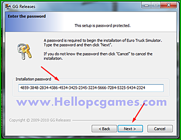 How to Install Euro Truck Simulator Game With Installation Password Picture 3