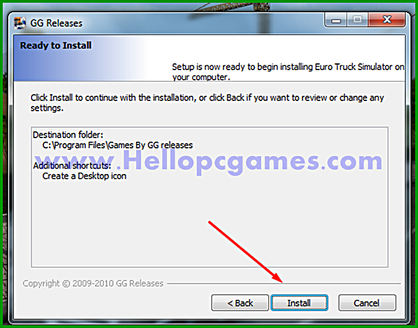 How to Install Euro Truck Simulator Game With Installation Password Picture 7