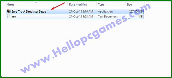 How to Install Euro Truck Simulator Game With Installation Password Picture
