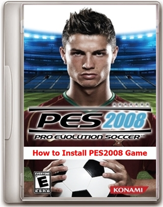 How to Install Pro Evolution Soccer 2008 Game