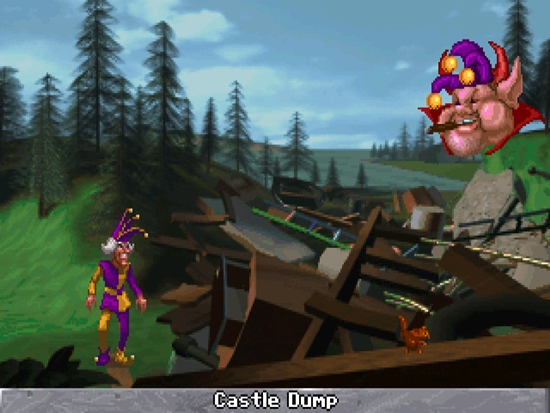 Legend of Kyrandia 3 Malcolms Revenge Game Picture 2