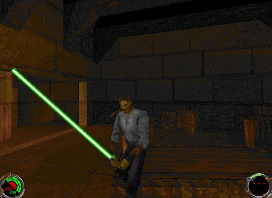 star wars jedi knight dark forces ii  pc