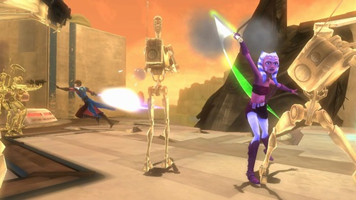 Star Wars The Clone Wars Republic Heroes Game Picture 2