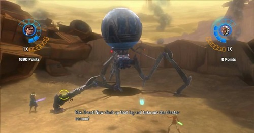 Star Wars The Clone Wars Republic Heroes Game Picture 3