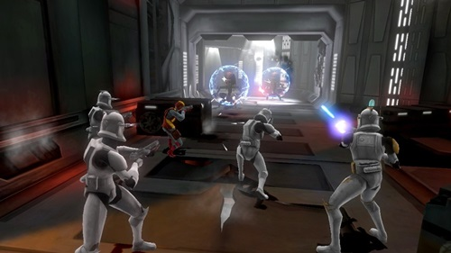 Star Wars The Clone Wars Republic Heroes Game Picture