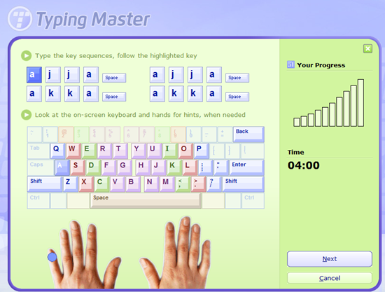 Typing Master Software Picture 3