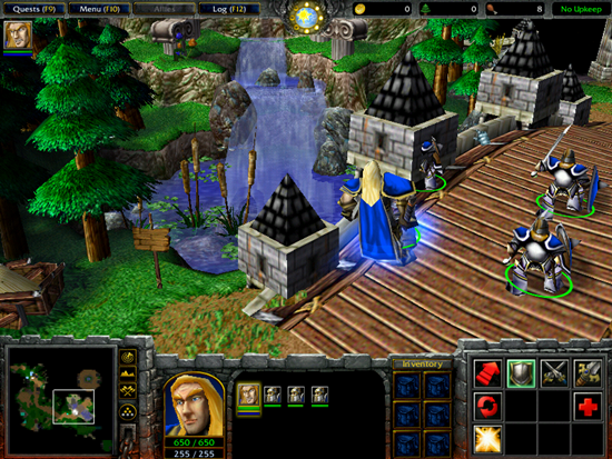 Warcraft 3 Reign Of Chaos Game Picture 2