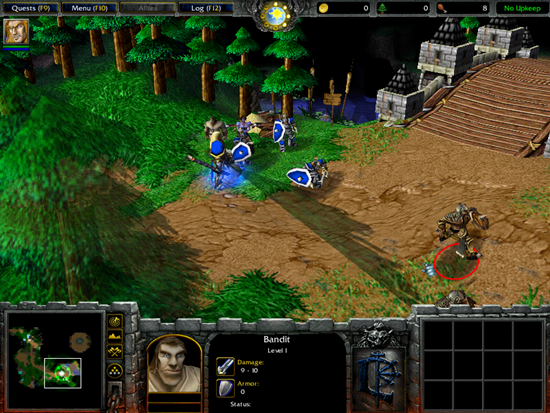 Warcraft 3 Reign Of Chaos Game Picture