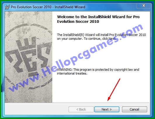 How to Install Pro Evolution Soccer 2010 Game With Key-Picture 2