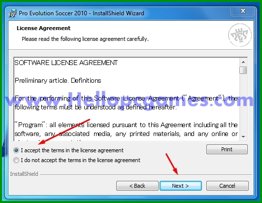 How to Install Pro Evolution Soccer 2010 Game With Key-Picture 3