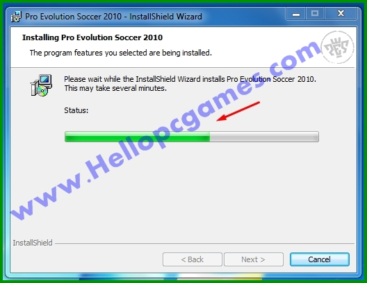 How to Install Pro Evolution Soccer 2010 Game With Key-Picture 7