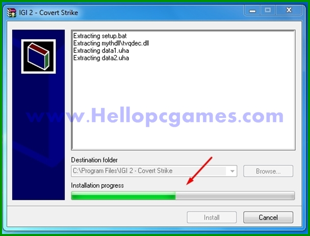 How to Install and Play I.G.I-2 Covert Strike PC Game - Step 4