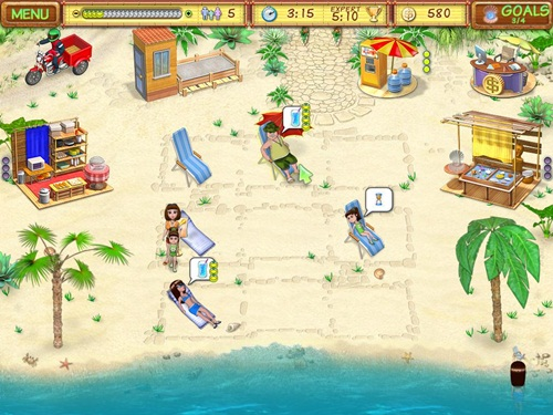 Beach Party Craze Game Picture
